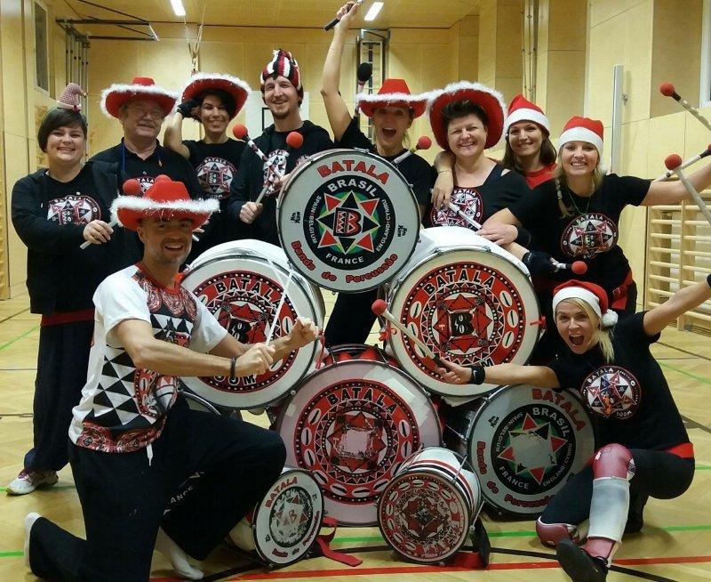 Batala Boom, Samba Percussion Band, Wien, Austria, Rehearse, Bild 3